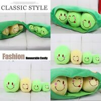 3 Peas in a Pod Plush Pillow Emoticons Toy Plush Soft Boy /& Girl Kids Toys Gifts