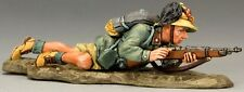 King & Country Italian Forces If022 Lying Prone With Rifle Mib