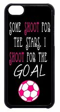 Soccer Girl Pink Futbol Ball Quote Cute Back Case Cover For Apple iPod 4 5 6