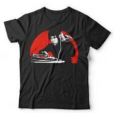 DJ Bruce Lee 2 Tshirt Unisex - Music, Kung Fu, Retro, Vintage, Turntable