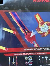 Power Rangers Ninja Steel Lion Fire Morpher Roleplay Toy NEW