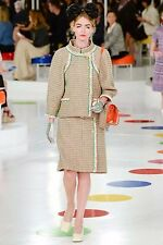 AUTH. 2016 CHANEL SEOUL CRUISE COLLECTION VERY RARE TWEED DRESS SZ 38 MULTICOLOR