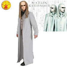LICENSED MENS MATRIX THE TWINS MOVIE COSTUME ADULT HALLOWEEN COAT & GLASSES