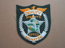 Manatee Woven Cloth Patch Badge (L1K)