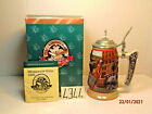 """BUDWEISER STEIN BEER 1999 MEMBERSHIP ONLY """"THE GOLDEN AGE OF BREWING"""" CB10 MIB"""