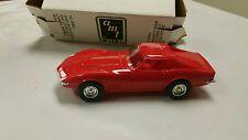 Amt ertl dealer promo model car 1970 Chevy corvette monza red