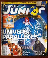 Science et vie junior n°229; Dossier; Univers Parallèles/ Armée Allemande Batman