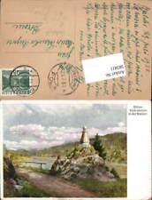 583411,Künstler AK Hugo Darnaut Bülow Gedenkstein Walster Mariazell