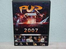 """*****DVD-PUR & FRIENDS""""LIVE AUF SCHALKE 2007""""-2007 EMI*****"""