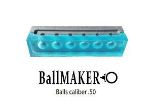BallMAKER MOLD for making BALLS cal. 50 for HDR 50 RAM cheaper than gumiballe