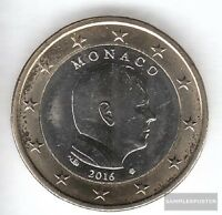 Monaco MON 7 2016 Stgl./unzirkuliert 2016 Kursmünze 1 Euro