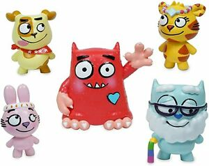 Love Monster Fluffytown Friends 5 Figurine Pack