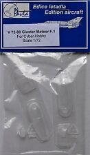 Pavla V72088 1/72 Vacform canopy cyber hobby meteor Mk1