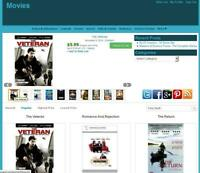 Movie Store Amazon Affiliate  Earning Website Free Hosting+Installation