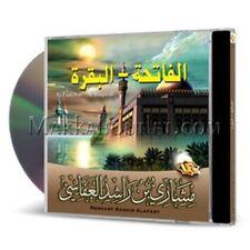 Faatihah and Al-Baqarah Tarteel Recitation (2 CDs) By MISHARY BIN RASHID AFFASY