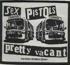 SEX PISTOLS never mind 2007 WOVEN SEW ON PATCH official - no longer made RARE