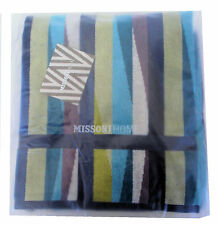 MISSONI HOME TOWEL SET FIORE POP COLLECTION  ROMY 170 VELOUR  COTTON BRANDED PAC