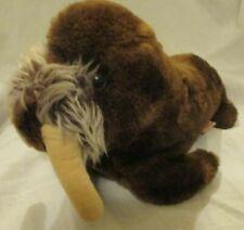 Vintage 1975 Nutshell Brown Tusk Dakin Wilhelm Walrus Plush Stuffed