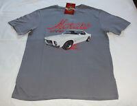 Holden HQ GTS Monaro Mens Grey Printed Short Sleeve T Shirt Size XL New