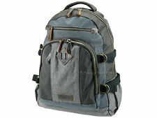 Troop London Travel Backpack Rucksack With Padded Laptop Pouch - TRP0385 Grey