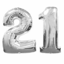 Unbranded Number Birthday, Adult Party Balloons