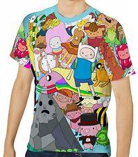 Adventure Time Herren Kurzarm T-Shirt Tee wa1 aao30417