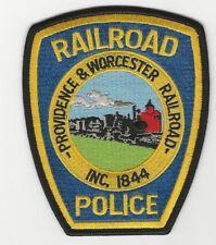 Providence Worcester Railroad Railway Police State RI MA Rhode Island MAss