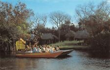 Ochopee Florida~Wooten's Everglade Air Boat Tours~Swamp Buggy Rides~1970s PC