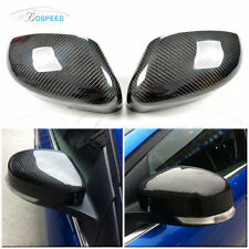 Carbon Fiber Dircect 1:1 Replacment Mirror Covers Caps for Ford Focus 2011-2017