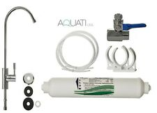 Deluxe Home Under Sink Tap Water Purifier & Dechlorinator Filter System Aquati