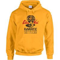 147 Cobra Kai Hoodie dojo karate movie 80s kid costume vintage no mercy new