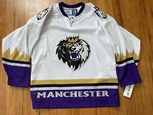 Reebok Manchester Monarchs Hockey Jersey Size Medium M AHL 2005 NWT CCM Canada