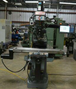 Clausing Kondia FV-1 Milling Machine With Prototrak Kmx Cnc Control