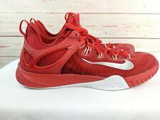 wholesale dealer 8c781 3516f Nike Zoom Hyperrev 2014 Basketball Shoes 742247-605 Red Silver Men s Size 16