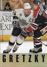 93/94 Gold Leaf All Stars Insert #6 Wayne Gretzky & Doug Gilmour