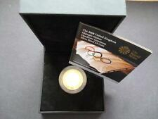 2008 ARGENTO PROOF £ 2 COIN BOXED con COA, OLYMPIC passaggio ARGENTO PROOF £ 2..
