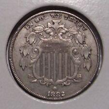 1882 Shield Nickel , XF