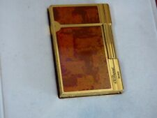 ST Dupont Gatsby Lighter - Lacquered Panels - Gold Plated Trim - Boxed