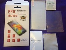 iPhone 4/4S Tempered Glass (Pack of 2) 9H+ Hardness Screen Protector UK REDUCED
