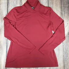 Ariat Mens Xlarge Red Polyester Pullover Mockneck