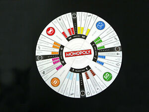 Spare Parts:  Game Board for MONOPOLY REVOLUTION Game