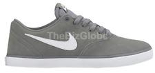 Nike 843896-003 Unisex SB Check Solar Canvas Shoes Cool Grey/White-Black