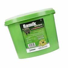 64 Pack Rat Bait Bars Pail Mouse Mice Rodent Killer Rodenticide Food Poison 1 oz