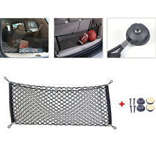 100x40cm Car Hatchback SUV RV Rear Trunk Cargo Storage Luggage Net w/Mounting