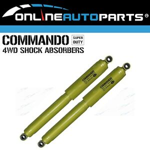 2 Rear Gas Shock Absorbers Holden Rodeo 1978-2008 RWD + 4x4 KB RA TF TFS TFR Ute