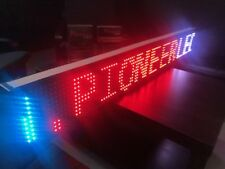 53''x8''  WIFI LED Scrolling Sign Panel Programmable Moving Message Display