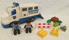 100% COMPLETE LEGO DUPLO POLICE TRUCK PLAY SET 5680 FIGURES VEHICLE