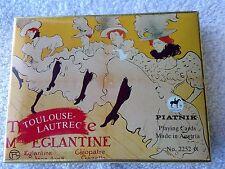 Austria Cards Piatnik Toulouse Lautrec Playing (Double Deck) Moulin Rouge New