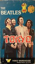 Beatles in Tokyo (VHS) super-rare 1966 concert footage