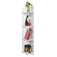 4 Tier Bathroom Corner Shelves Shower Caddy Cabinet Holder Storage Display Rack